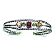 Classic silver gems Bangle-jsbn031