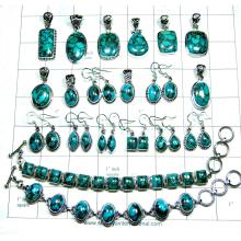 Sterling silver Blue copper Turquoise combo Lot-jsqb020