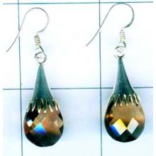 Silver drop earring-nscse014