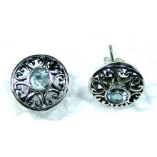 Sterling silver gems Earring-ss4e092