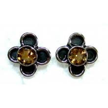 Sterling silver gems Earring-ss4e226