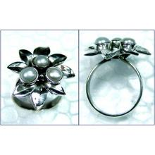 Beautiful silver gems Ring-ss4r162