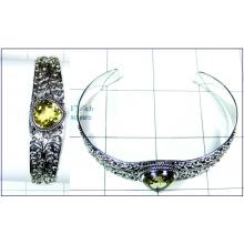Silver Bangle-ss4sben005