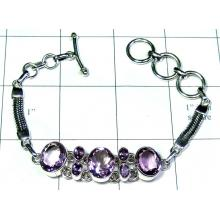 Faceted gems Bracelet-ss5b023