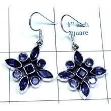 Classic silver color gems Earring-ss5e007