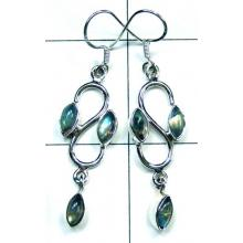 Classic silver color gems Earring-ss5e032