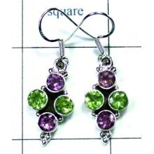 Classic silver color gems Earring-ss5e033