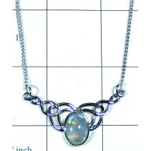 Rainbow Moonstone Necklace-ss5n025