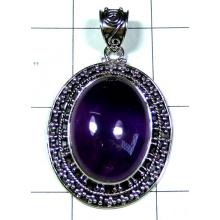 Sterling silver gems Pendant-ss5p127