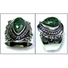 Wholesale silver gemstone Rings-ss5r027