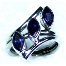 Wholesale silver gemstone Rings-ss5r040
