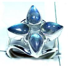 Rainbow Moonstone Silver Ring-ss5r120
