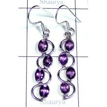 Wholesale silver Earring-w2edbe007