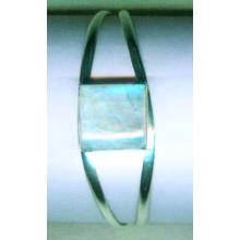 Silver wholesale gem stone bangle collection-w8bb002