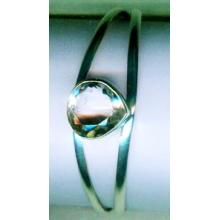 Silver wholesale gem stone bangle collection-w8bb017