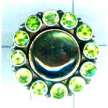 Silver wholesale gem stone ring collection-w8r025